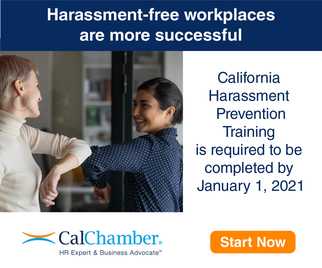 Start Mandatory California Harassment Prevention Training Today!