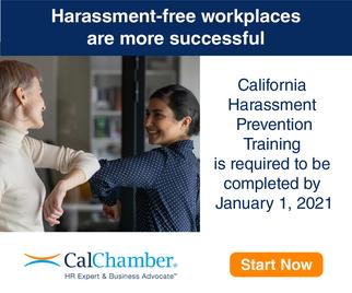 Start Mandatory California Harassment Prevention Training Today!