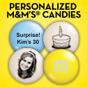 Personalized MY M&M'S� Candies