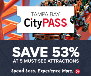 Save 50% or more on Tampa Bay CityPass Attractions like Busch Gardens.