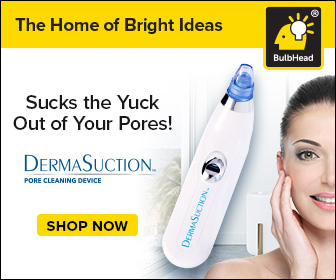 Sucks The Yuck Out Of Your Pores!