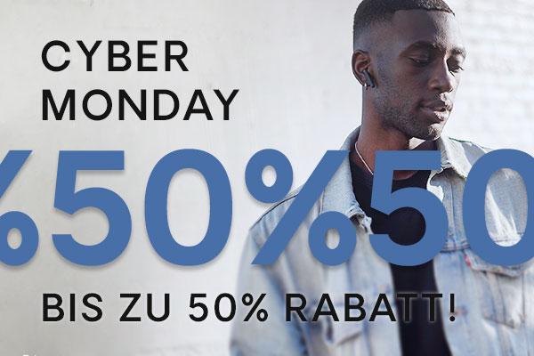 Cyber Monday | bis zu 50 % Rabatt auf alles