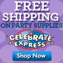 Free Shipping at Celebrate Express