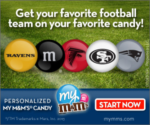 Personalized MLB Baseball M&M's! Save!