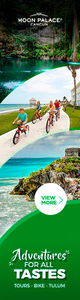Enjoy at Moon Palace Cancun our activities: Tours, Bikes, Tulum and more.