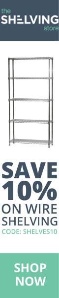 120x600 TSS Wire Shelving 10% OFF Coupon