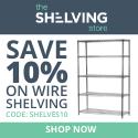 Shelving Inc. - 125×125 TSS Wire Shelving 10% OFF Coupon