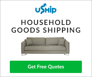Save up to 55% on Household Goods Shipping