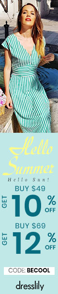 Hello Summer Hello Sun! BUY $49 GET 10% OFF  BUY $69 GET 12% OFF CODE:BECOOL