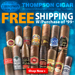 Thompson Cigar Promo Code Free Shipping