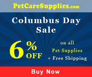 6% Extra Discount + Free Shipping Site-wide on All Orders for Columbus Day Sale