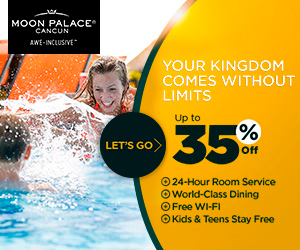 All Inclusive Vacation at Moon Palace Cancun.