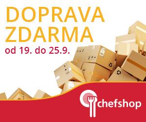 Doprava zdarma na Chefshop.cz