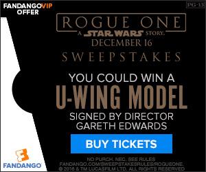Fandango - Rogue One: A Star Wars Story Sweepstakes