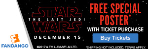 Free Poster with Star Wars Tickets