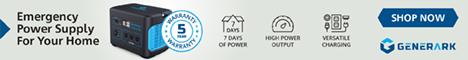 generark, portable power station, emergency power supply, for home, for family, for emergency, backup battery, solar generator, solar panel, solar power generator, whole house backup battery