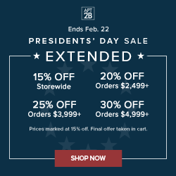 Shop up to 15% off!