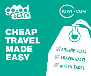 Cheap flights at Kiwi