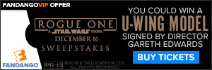 Fandango - Rogue One: A Star Wars Story Sweepstakes