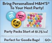 Shop M&M's!
