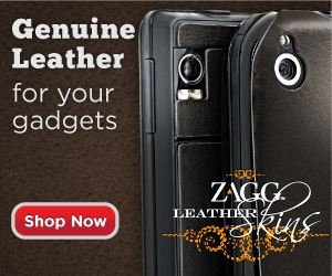 ZAGG Leather Accessories for Your Gadgets