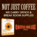 CoffeeForLess.com - FREE GIFT with Purchase. Click for Details!