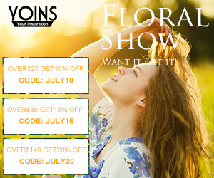 20% off $149 for the Floral Show