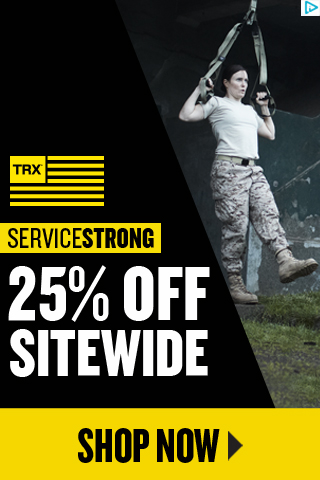 TRX Service Strong Sale - Save 25% OFF Everything plus Free Shipping - No Exclusions