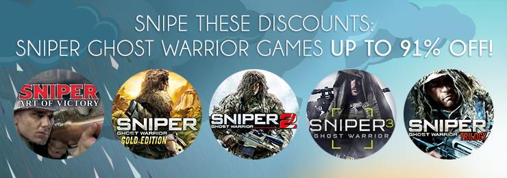 Sniper Ghost Warrior series