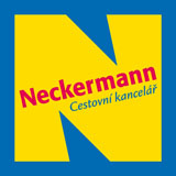 Banner cestovní kanceláře Neckermann