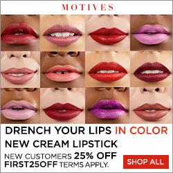 Motives Cosmetics Cream Lipstick