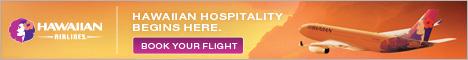 Hawaiian Airlines: онлайн-бронирование дешевых авиабилетов на Гавайи от Гавайских авиалиний