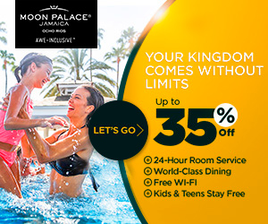 All Inclusive Vacation at Moon Palace Jamaica.