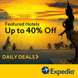 Expedia Promo Code 40% off daily deals
