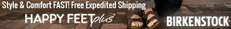 Happy Feet Plus: Birkenstocks Fast. Free Expedited Shipping.