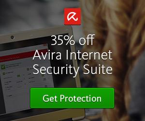35% off Avira Internet Security Suite
