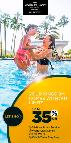 Your Kingdom comes without limits. Up to 40% off at Moon Palace Jamaica. Kids & Teens for Free. Safe
