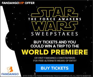 Fandango Star Wars