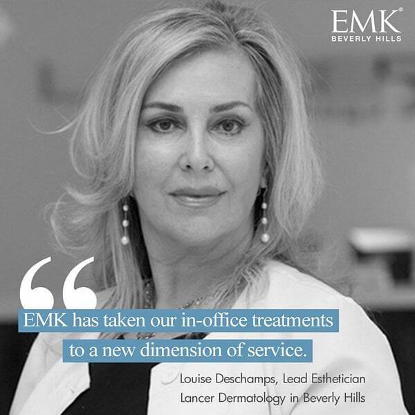 Louise Deschamps EMK Beverly Hills Testimonial