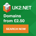 UK2.NET Domains - Buy .co.uk and .com and get 12%