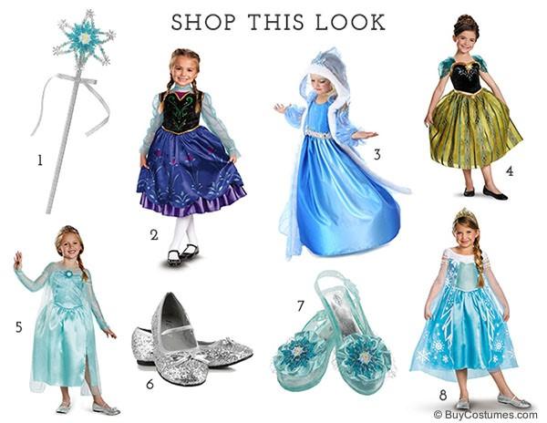 Disney's Frozen costumes