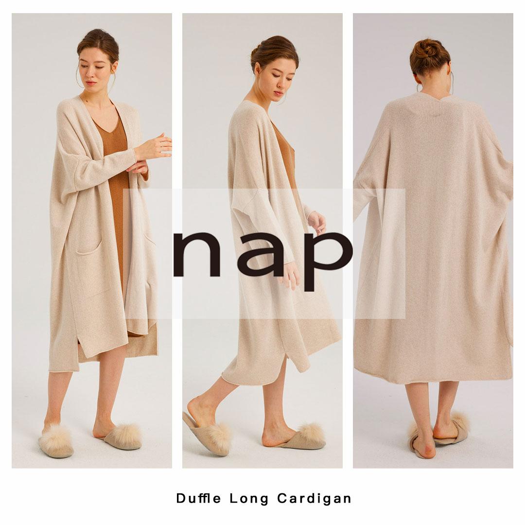 Duffle Long Cardigan