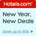 New Year, New Deals: Save up to 30%! Book by 1/28/13, Travel by 2/18/13