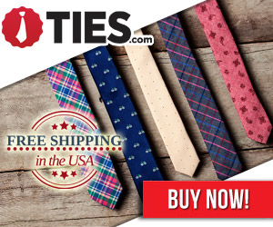 Free Shipping on all US Orders at Ties.com