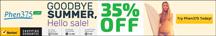 35% off Goodbye Summer Sale!