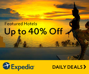 Expedia Promo Code - Up to 40% off Daily Deals