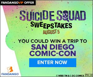Fandango - Suicide Squad Fandango Comic Con Sweepstakes