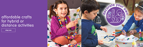 SAVE 20% Off Select Arts & Crafts Products To Educate, Engage & Entertain Children For Valentine's