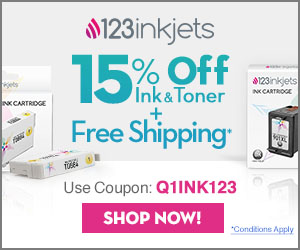 123Inkjets Coupon Code 15% Off