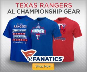 Shop for 2011 Rangers AL Chamos Gear  at Fanatics